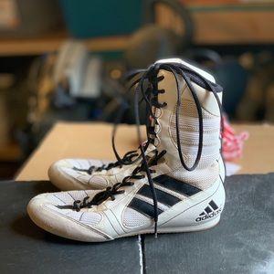 Adidas boxing shoes size 8